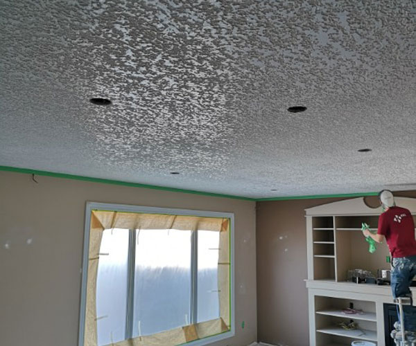 Drywall Taping/Knockdown Spantex Ceiling